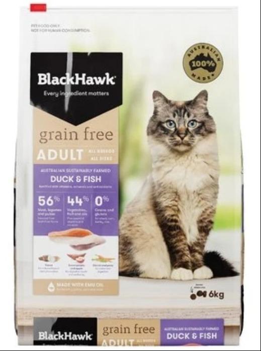 makanan kucing bengal black hawk