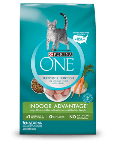 makanan kucing bengal purina one indoor cat food